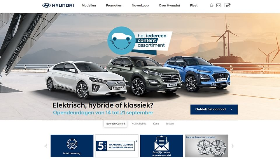 Marketing Automation bij Hyundai