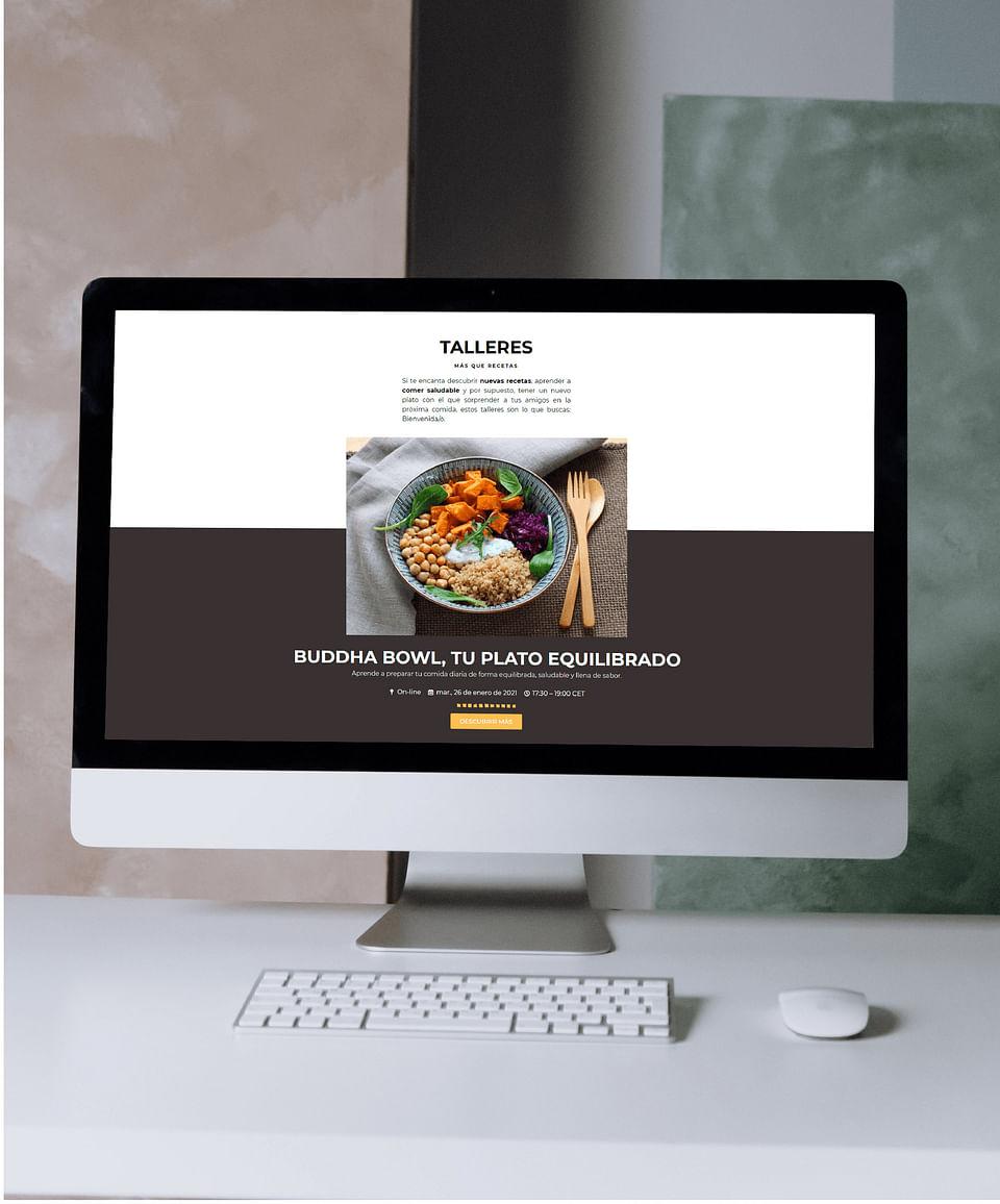 Diseño y desarrollo web   The Ingredients Story
