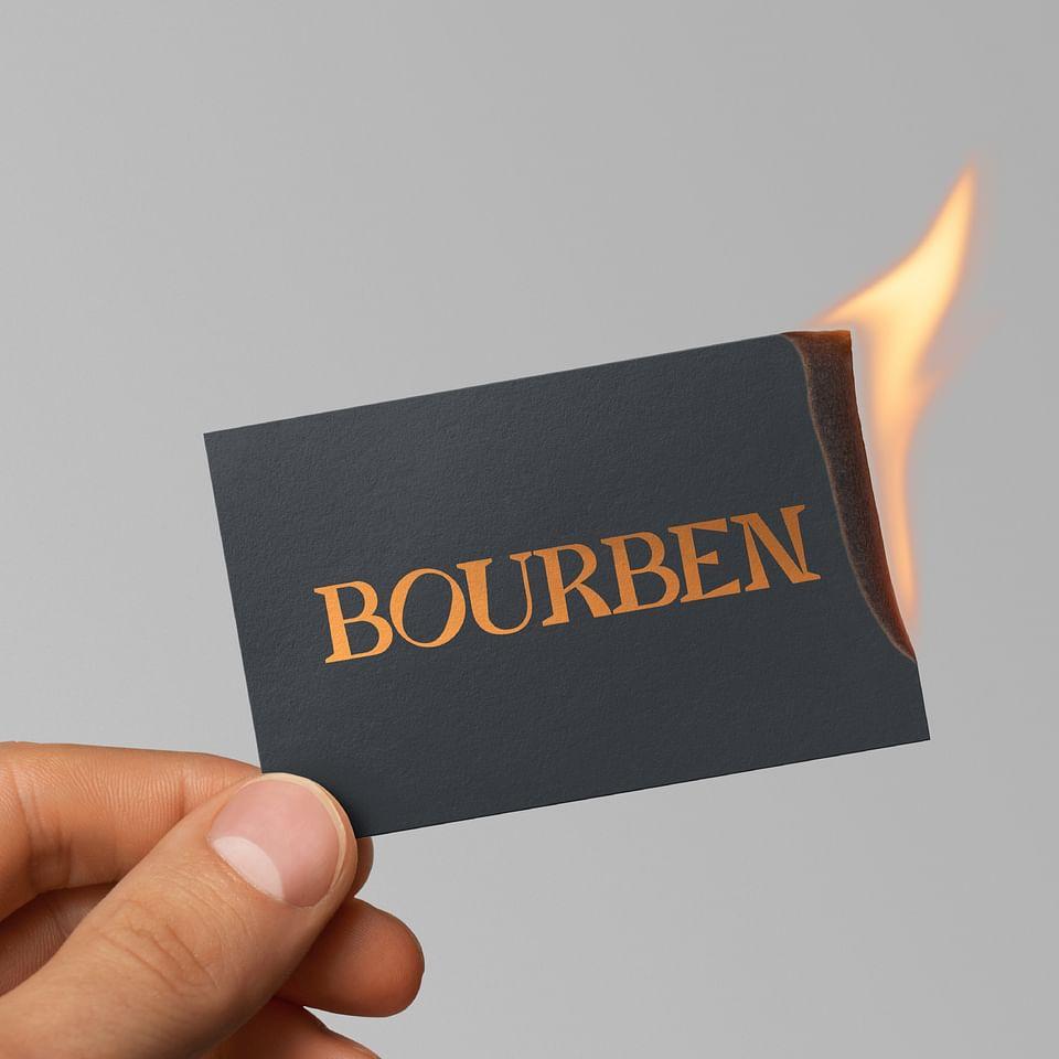 Bourben Brand Distillery —  Visual Identity