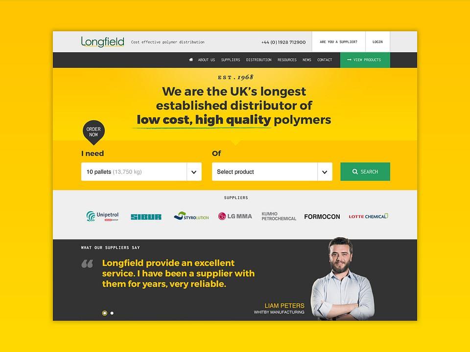 Longfield Polymers Website