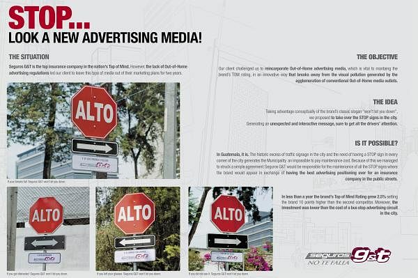 STOP! LOOK A NEW ADVERTISING MEDIA