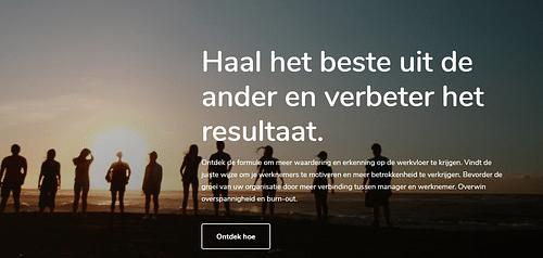Data Analytics & Strategy - Website Creatie