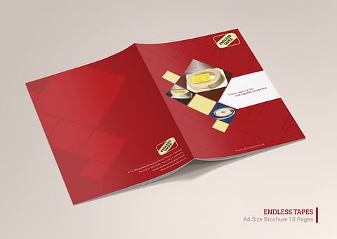 Company Profile Design for Ahmed Sons Endless Tape