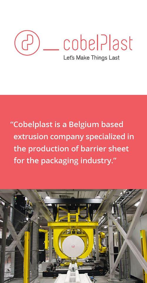 Cobelplast - Branding & Positionering