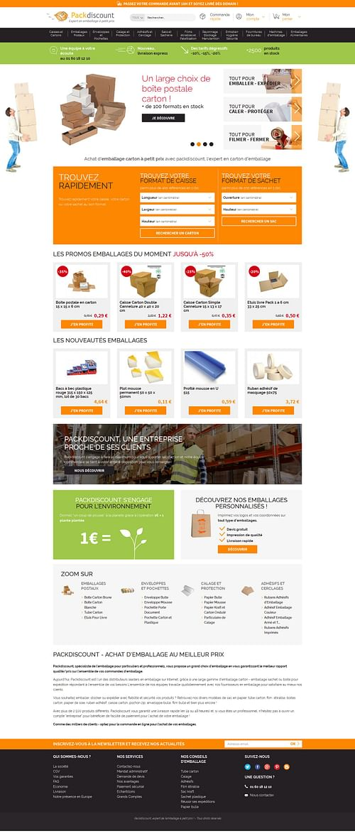 Pack Discount - E-commerce
