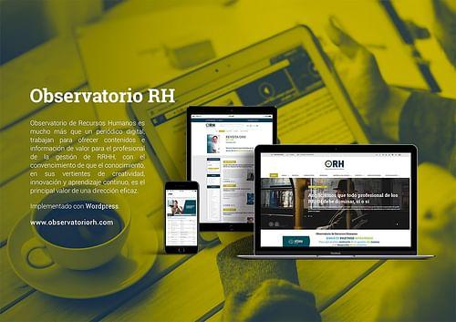 Periódico digital Observatorio RH - Creación de Sitios Web
