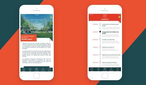 Le Parc de la Maison blanche - Application mobile