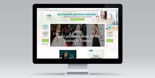 ESET - E-mailing et publicité web - Design & graphisme
