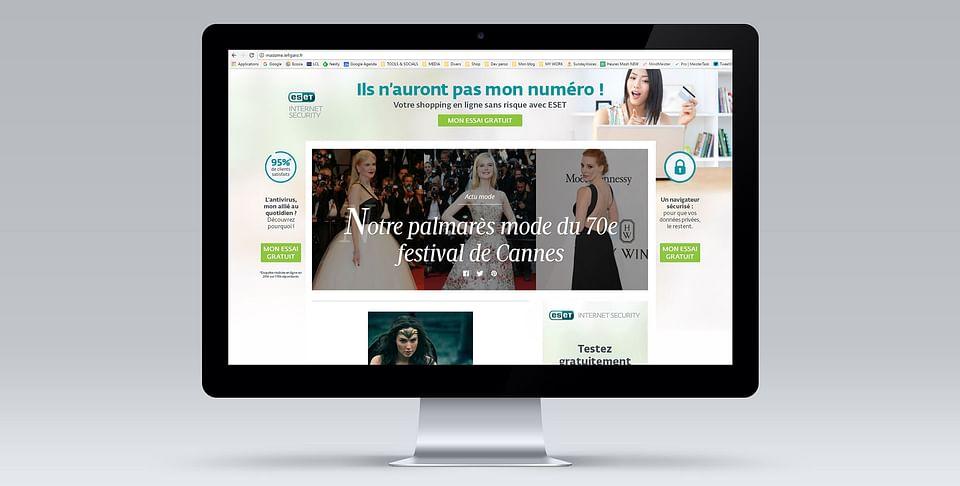 ESET - E-mailing et publicité web