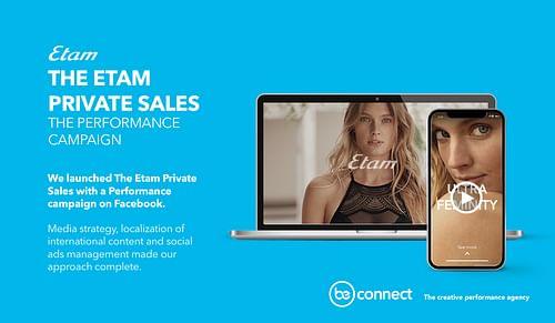 Etam: The Etam Private Sales - Stratégie digitale