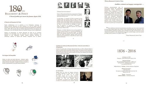 Dossier de presse pour Beaumont & Finet - Relations publiques (RP)