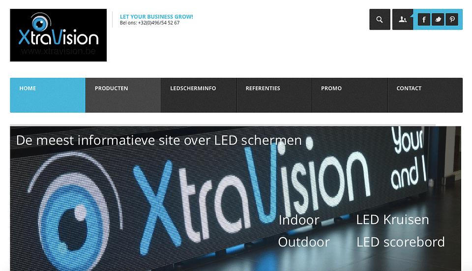 Online marketing voor Xtravision