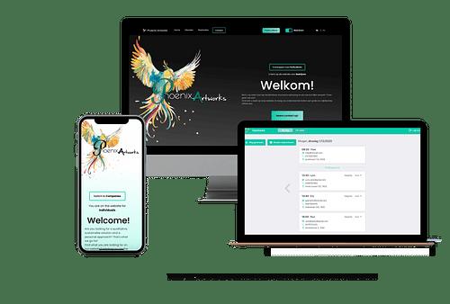 Phoenix Artworks - Création de site internet