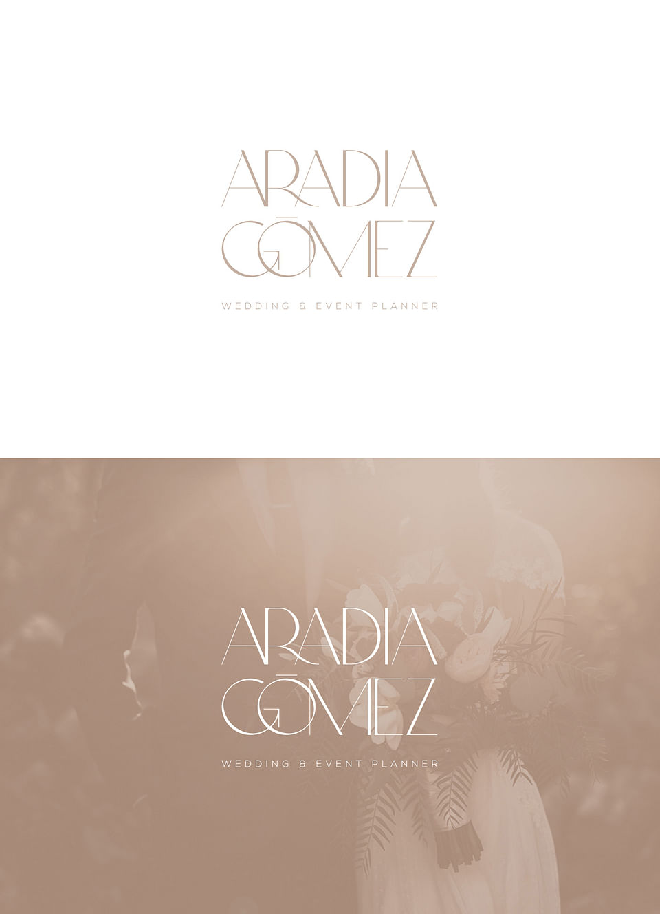 Aradia Gómez - Diseño de identidad Wedding Planner