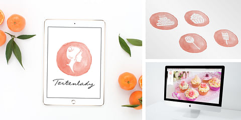 Tortenlady - Logodesign & Website Entwicklung