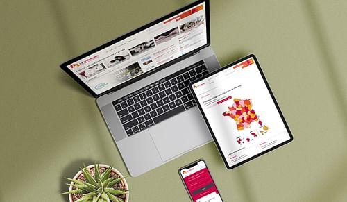 Site institutionnel sur-mesure pour La Médicale - Création de site internet