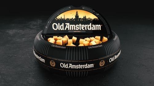 Old Amsterdam - Kaaswiel display - Innovatie