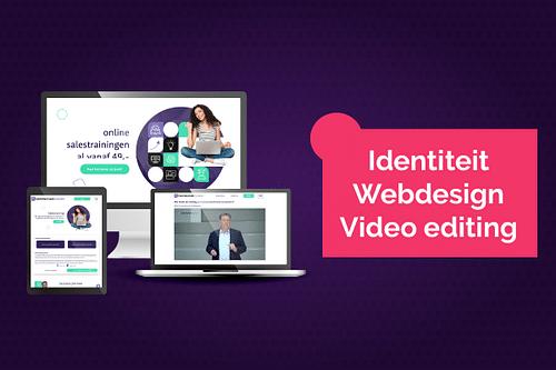 Branding, Strategie, Webdesign en videocontent - Website Creatie