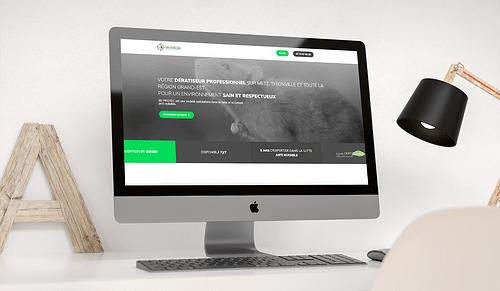 Création du site vitrine de 3DPROTEC - Création de site internet