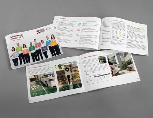 Summertown Sustainability Report - Graphic Design