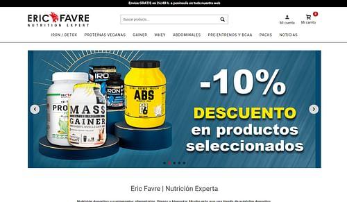 Website&Marketing para alimentación deportiva. - Estrategia digital