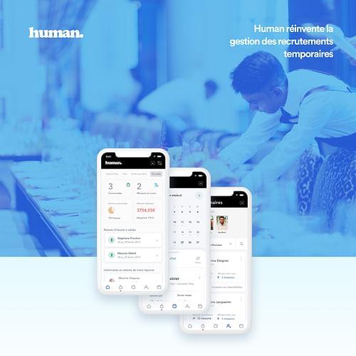 Human - Création de site internet