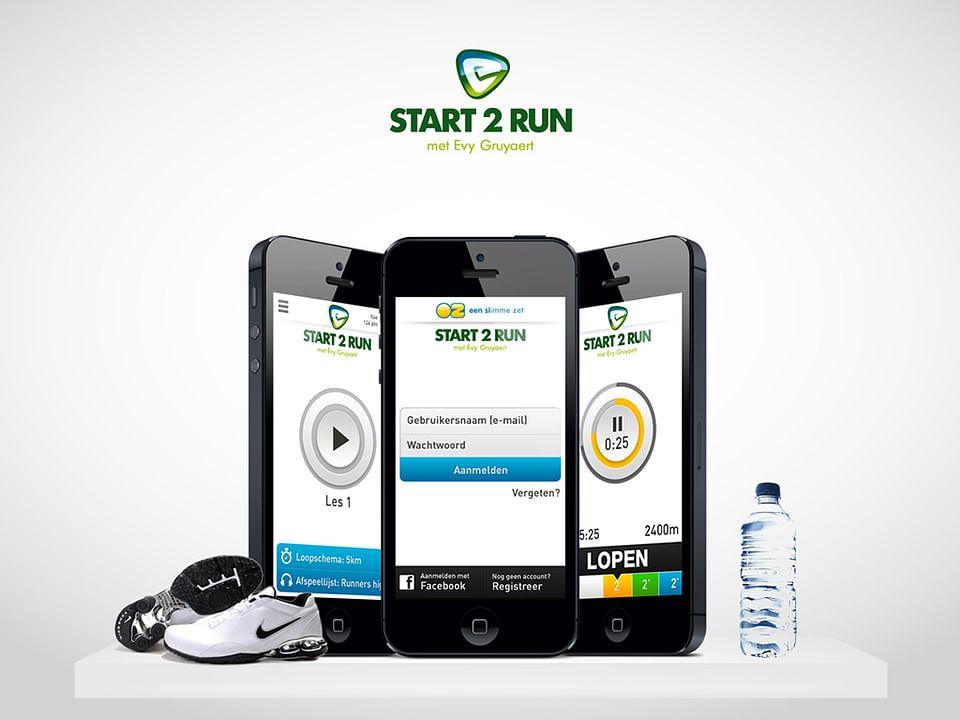 Start 2 Run: Mobile  app