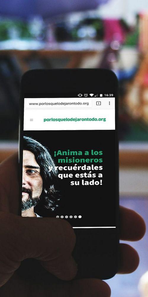 #porlosquelodejarontodo - Publicidad