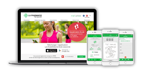 La Pharmacie Rive Gauche - Mobile App