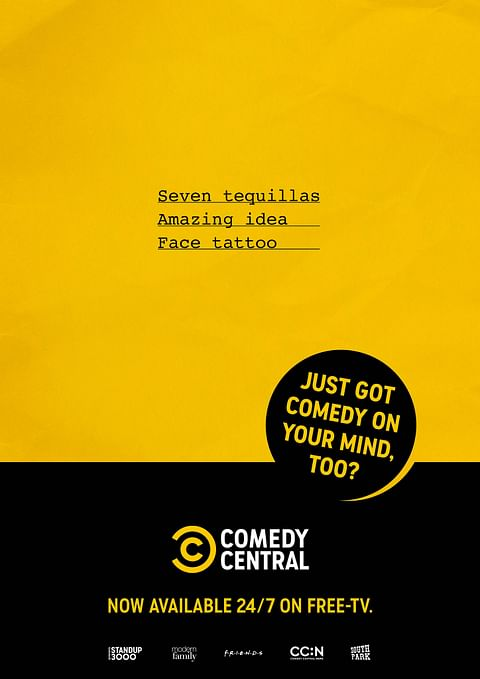 """COMEDY CENTRAL 