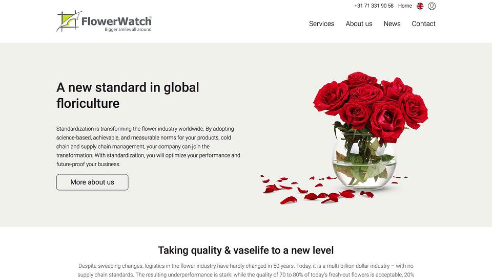 FlowerWatch Website