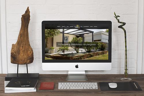 Site vitrine Pergolas Sun'J - Website Creation