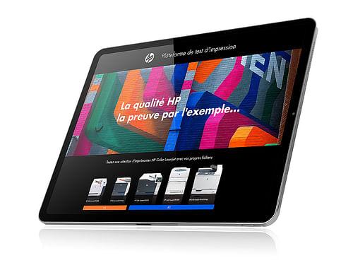 Site internet BtoB HP Printer - Création de site internet