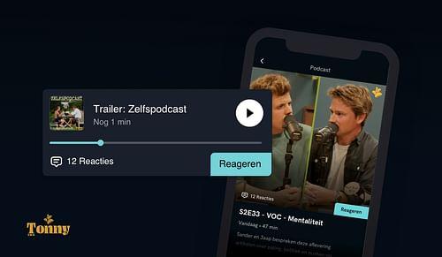 Zelfspodcast: Podcast platform - Ergonomie (UX / UI)