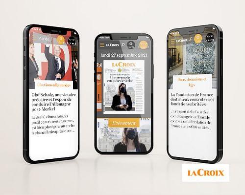 La Croix - Application mobile