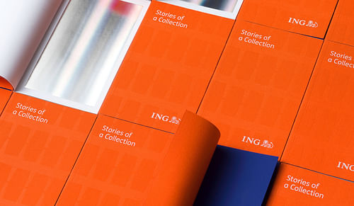 ING - Exhibition identity and scenography - Image de marque & branding