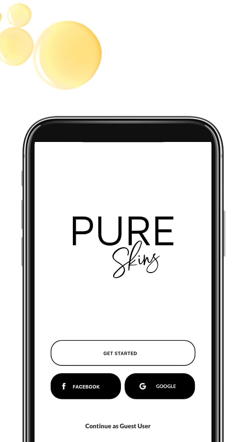 Pureskins - Mobile App