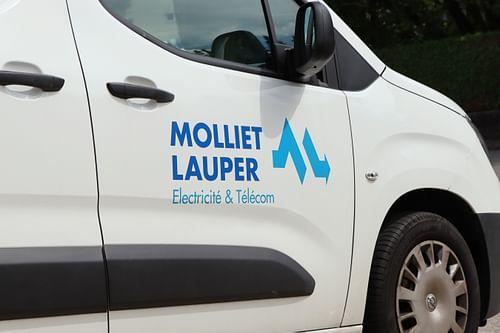 Logo Molliet Lauper - Image de marque & branding