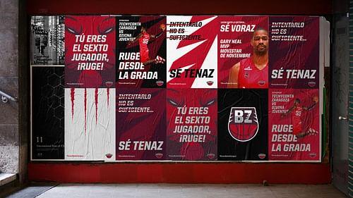 Rediseño de una marca deportiva y sistema visual - Diseño Gráfico