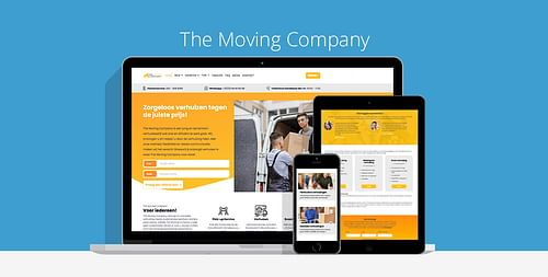 The Moving Company - Website Creatie