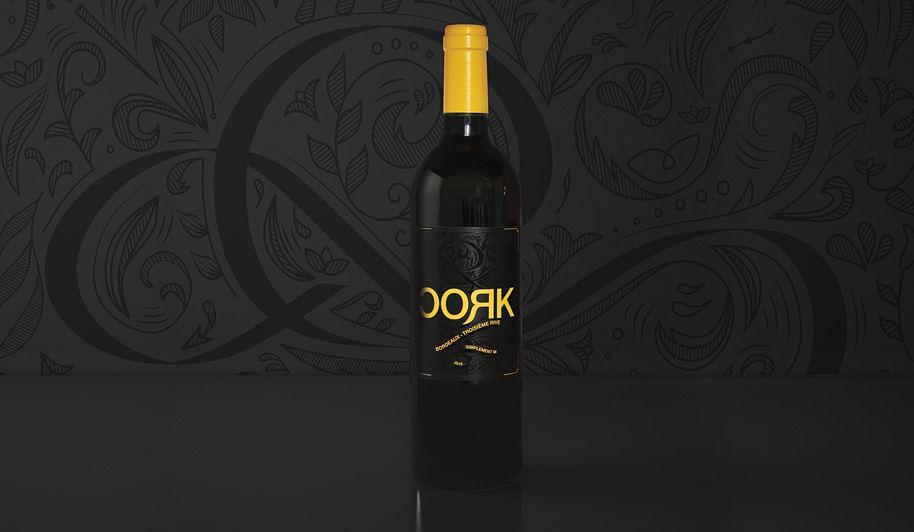 Etiquette de vins