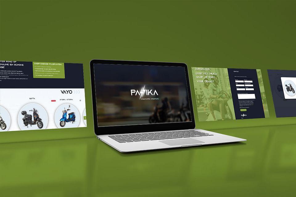 Branding & positioning, website