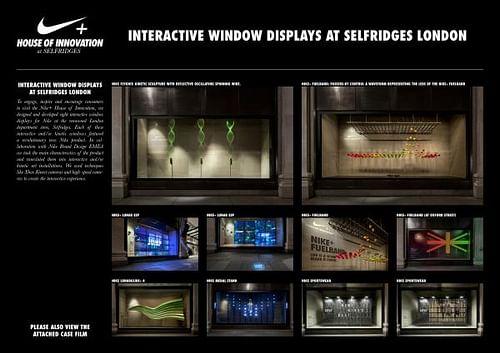 NIKE+ HOUSE OF INNOVATION - SELFRIDGES WINDOWS [image] - Website Creation