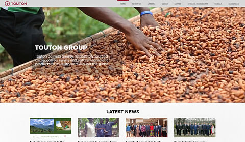 Site web / emailings : Touton Group