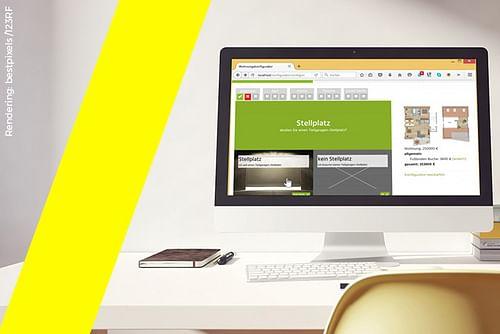 Konfigurator (Wohnungskonfigurator) - Webseitengestaltung