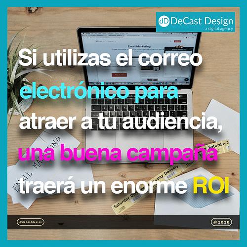 Email marketing carousel post - Social Media