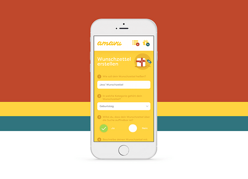 amavu – Corporate Design / App Design - Grafikdesign