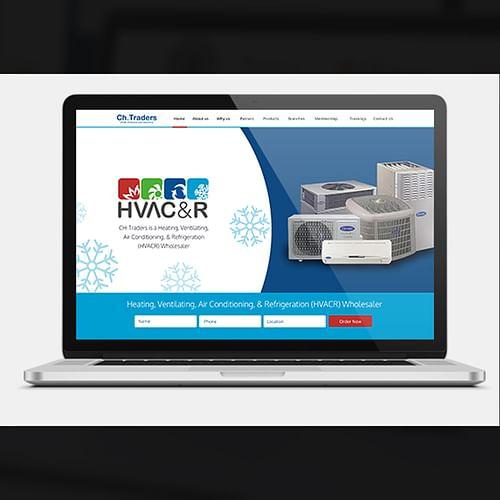 Website Creation for HVAC & R Company - Mobile App