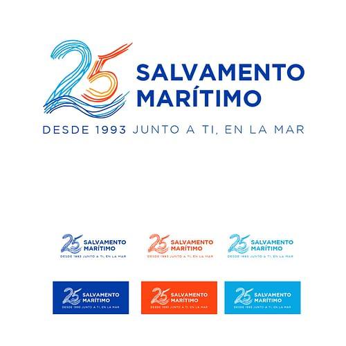 25 años Salvamento Marítimo - Branding y posicionamiento de marca
