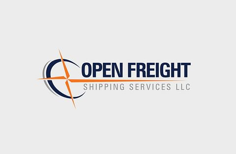 Logo Design for Open Freight Shipping Services LLC